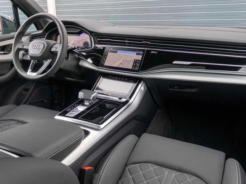 Audi Q7 60 TFSI e quattro Competition | Head Up Display | Assistentiepakket Tour/City | Pano.Dak | Stoelventilatie/Massage | S-Sportstoelen | Bose Premium Sound afbeelding 24