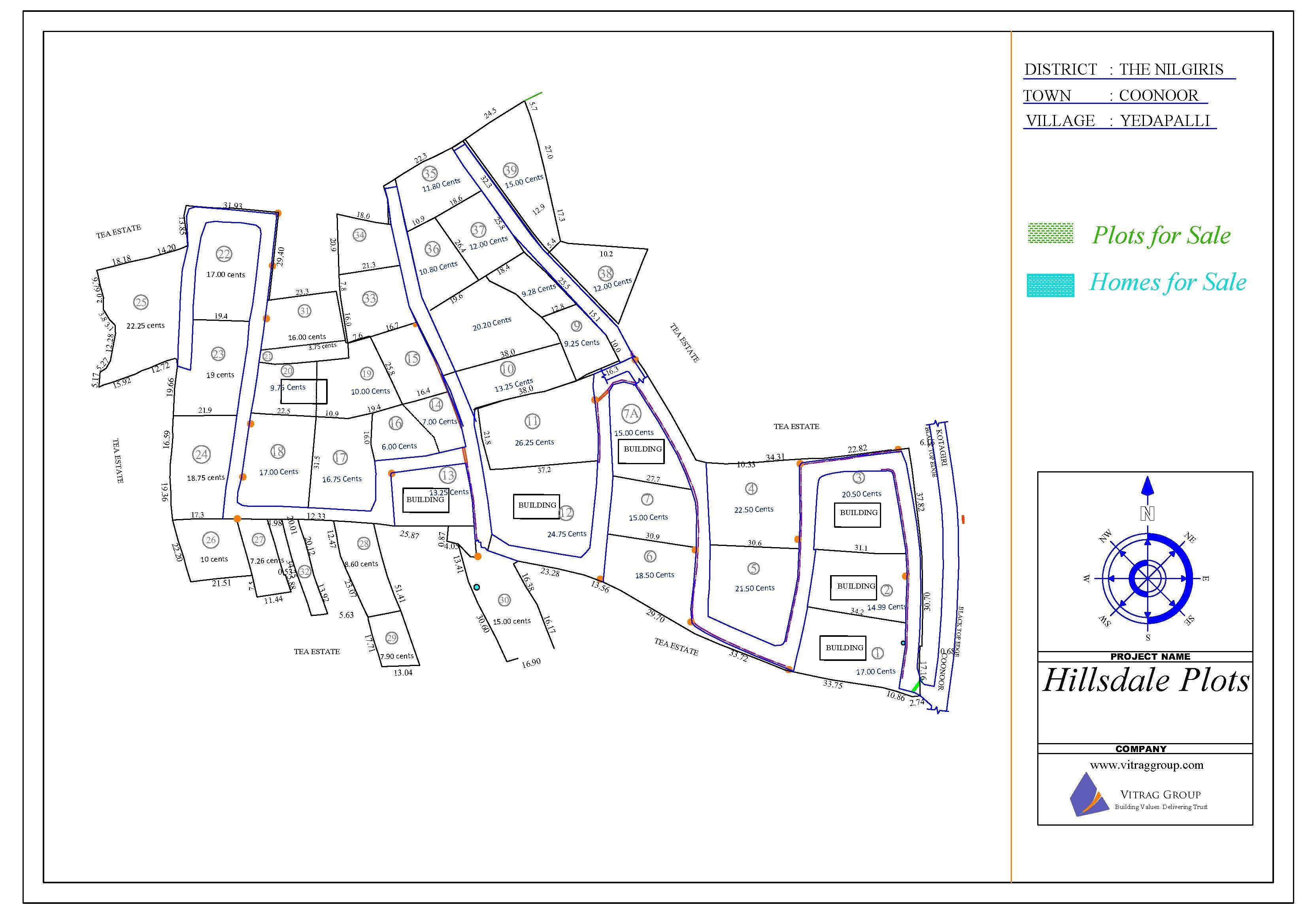 Hillsdale Layout Plan