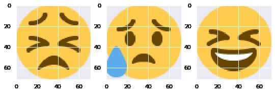 Top-level Cluster 3 Sampled Emojis