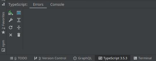 Restart TypeScript in Webstorm