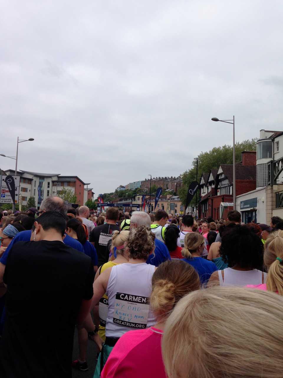 featured image thumbnail for post Bristol half marathon - 70 days to fix up!