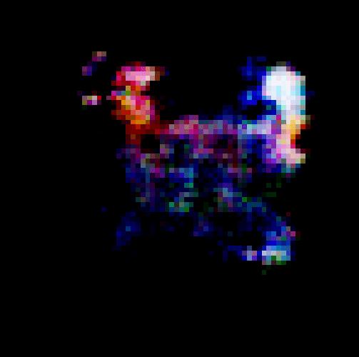 pokemon sprite generated by GAN