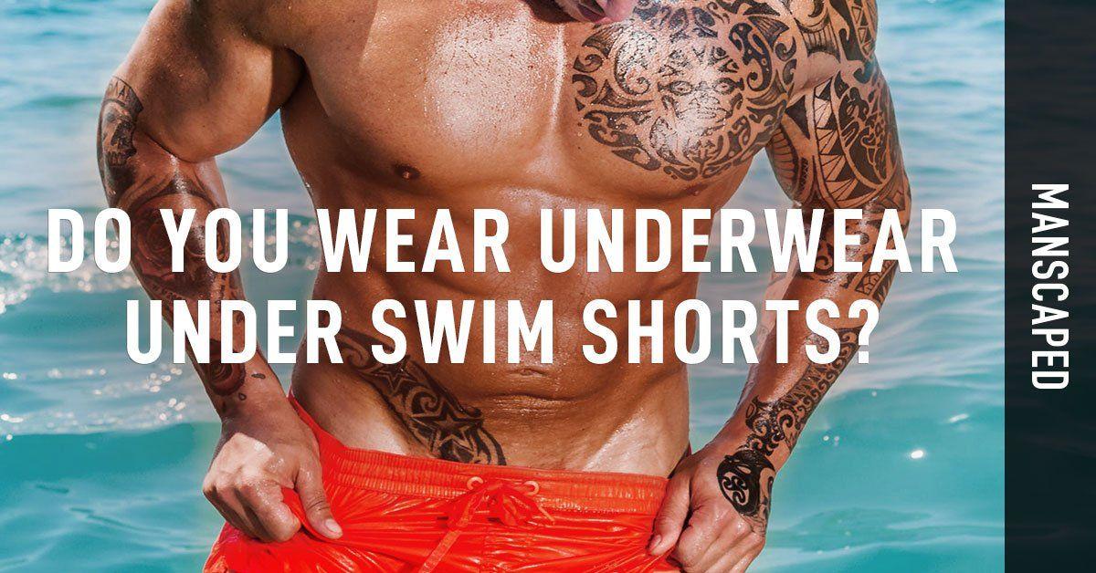 Do You Wear Underwear Under Swim Shorts?