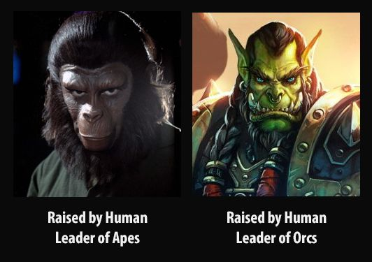 Raised by human. Leader of...