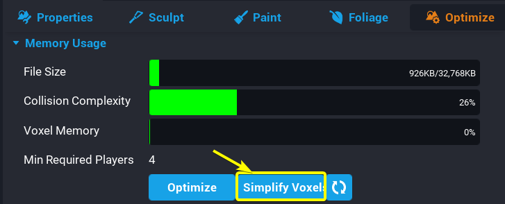 Simplify Voxels