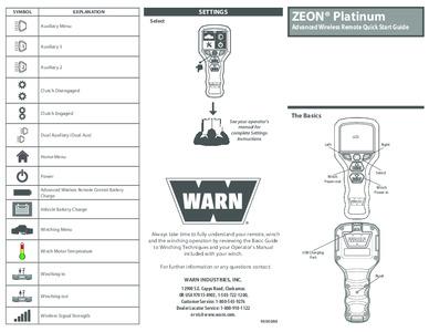 Zeon Platinum Cheatsheet