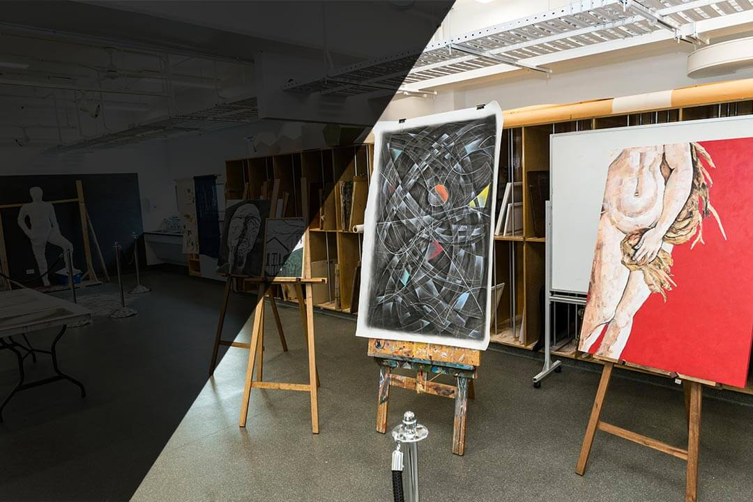 Take a tour of our photography and visual arts facilities