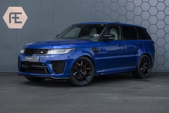 "Land Rover Range Rover Sport P575 SVR Carbon SVR motorkap + Drive Pro Pack + Panoramadak + 22"" + Stoelkoeling + Head-Up + Stuurwielverwarming + Carbon interieur"