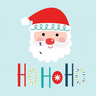 hohoho feliz navidad