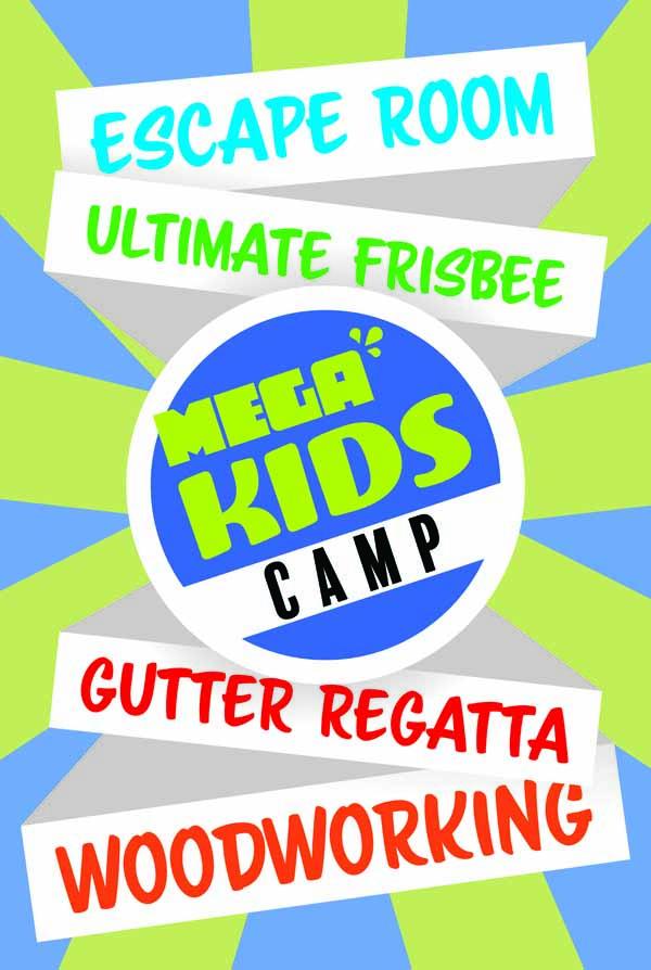 Mega Kids Camp Sign