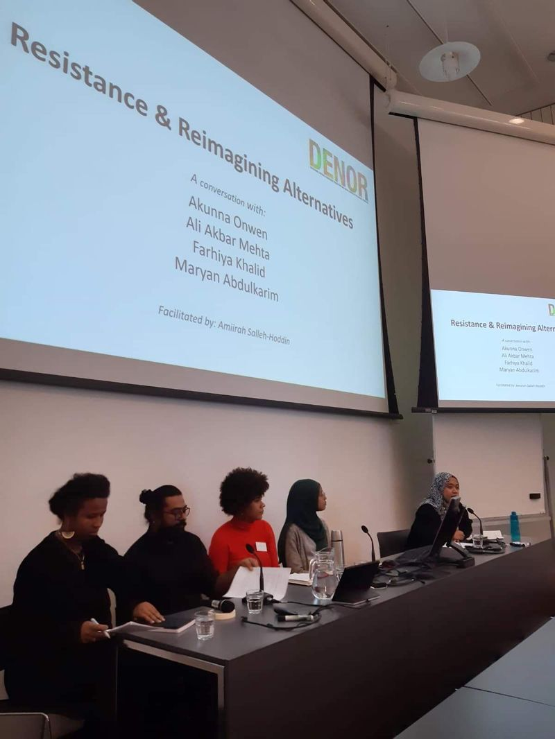 Resistance and Reimagining Alternatives