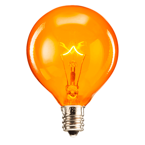 25 Watt Light Bulb - Orange