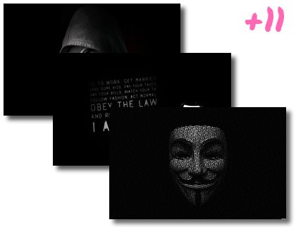 Anonymous theme pack