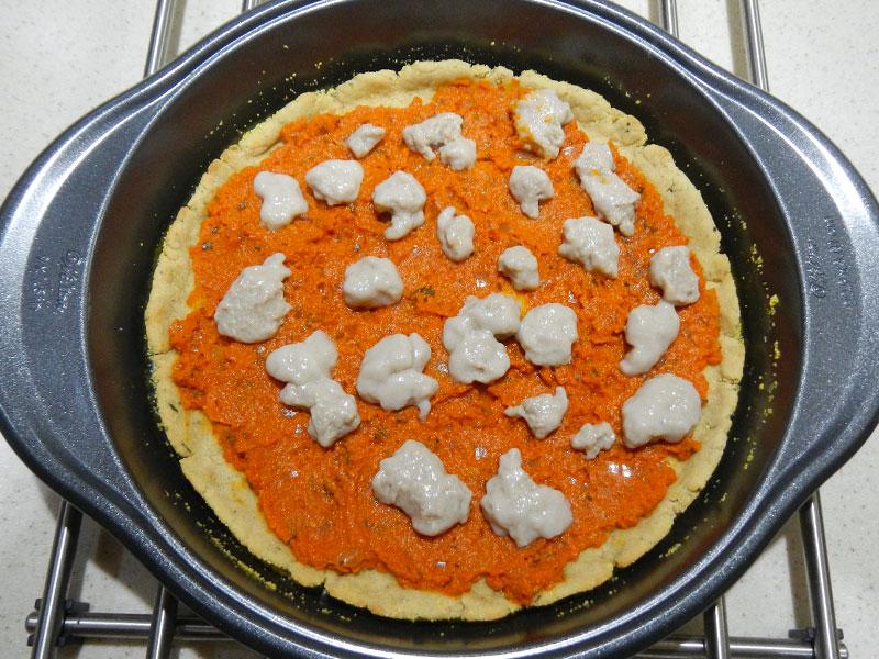 Home Made Mozzarella on Pizza