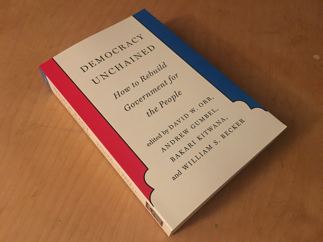 Cover of Democracy Unchained.
