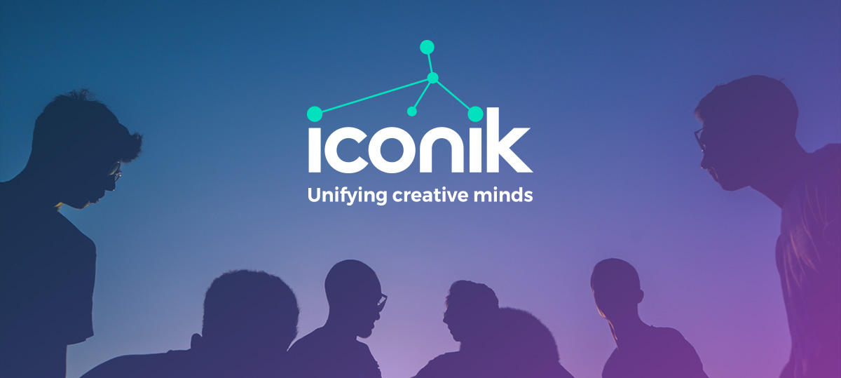 iconik logo image header