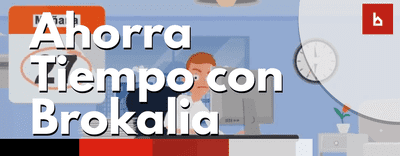Gana tiempo colaborando con Brokalia si eres administrador