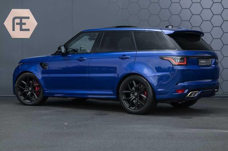 "Land Rover Range Rover Sport P575 SVR Carbon SVR motorkap + Drive Pro Pack + Panoramadak + 22"" + Stoelkoeling + Head-Up + Stuurwielverwarming + Carbon interieur afbeelding 17"