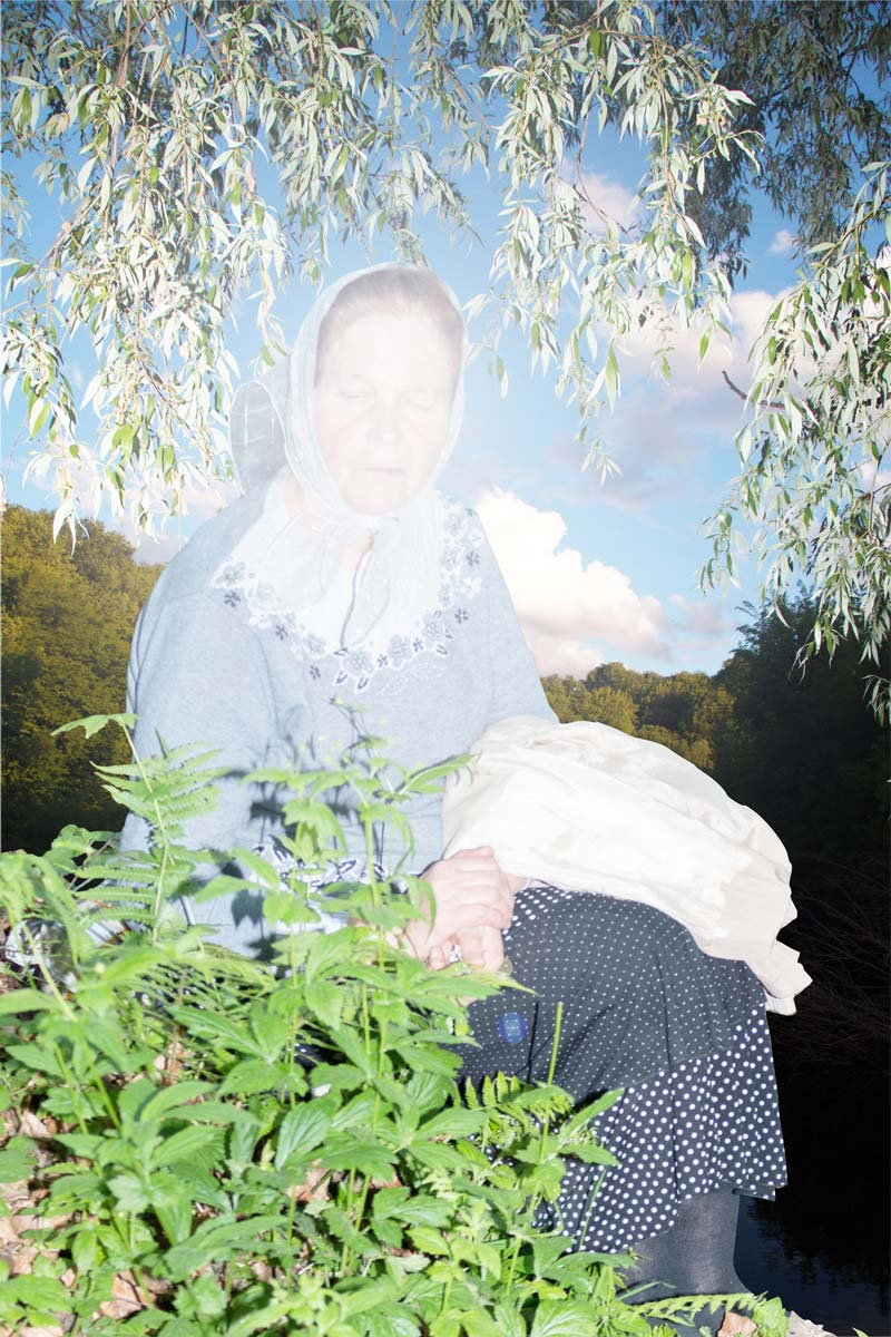 Elena Subach, from Grandmothers series