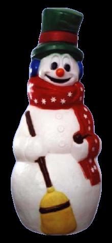 Jumbo Snowman photo