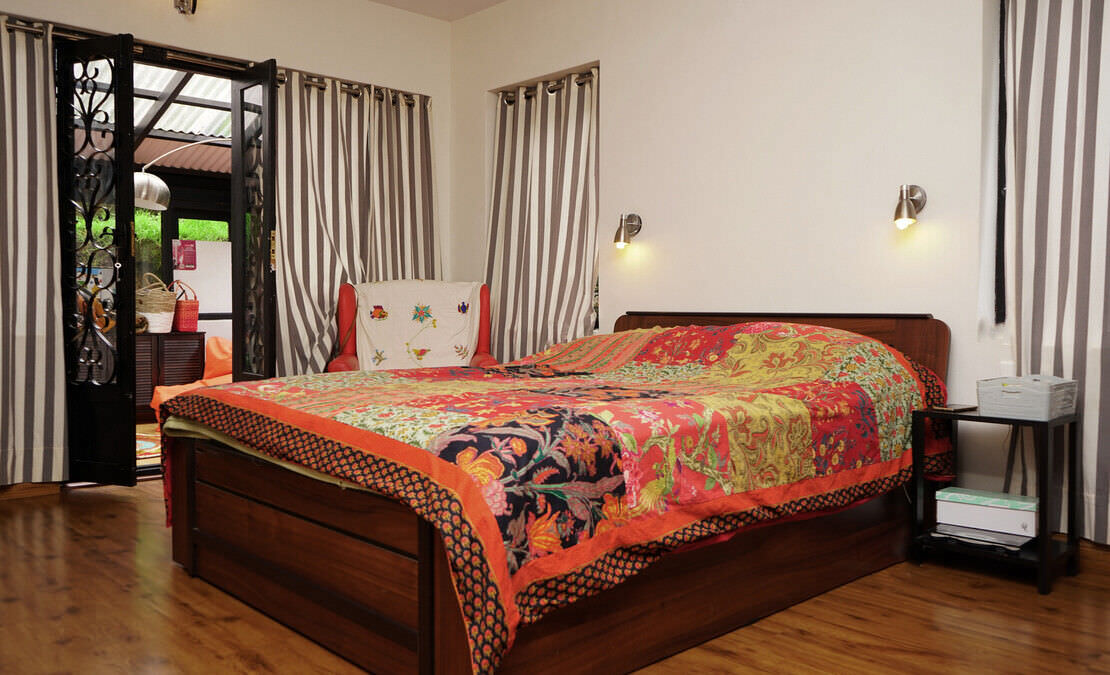 House in Sua Serenitea Malhar Bedroom with sun room