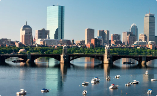 Boston, Massachusetts Skyline
