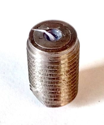 Unclean Nozzle Sealing Washer