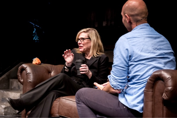 Debbie Millman last year at SmashingConf NY