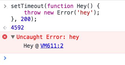 "Imagem indicando ""Uncaught Error: hey (Hey function)"""