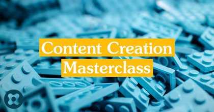 Content Creation Masterclass image