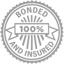 Insured and bonded