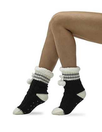 Pom Pom Sport Stripe Sock