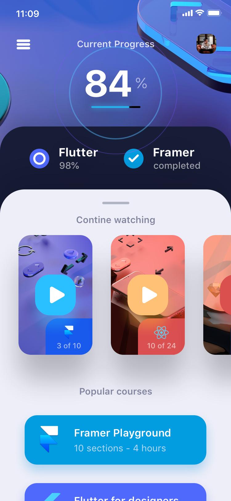 Framer Playground Course by Design+Code