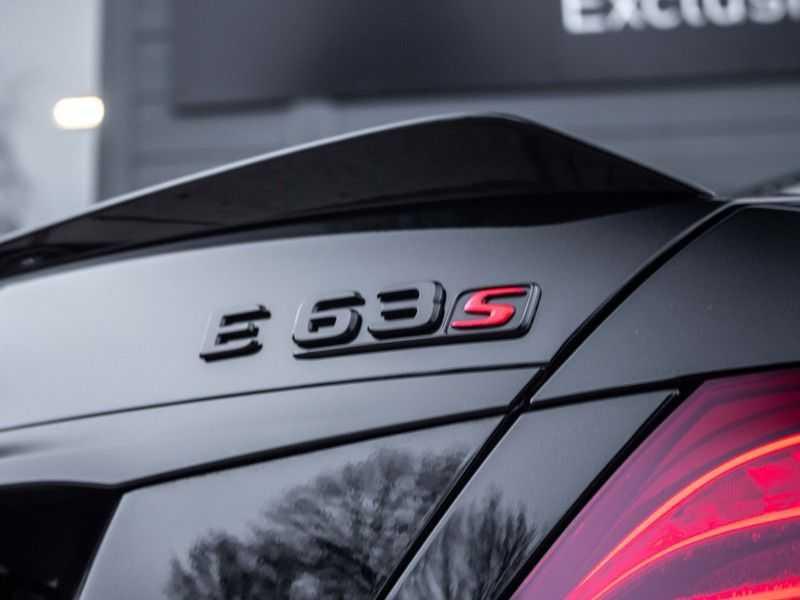Mercedes-Benz E63 S E-klasse Burmester AMG-Performance-stoelen 63 S AMG 4Matic Premium Plus afbeelding 21
