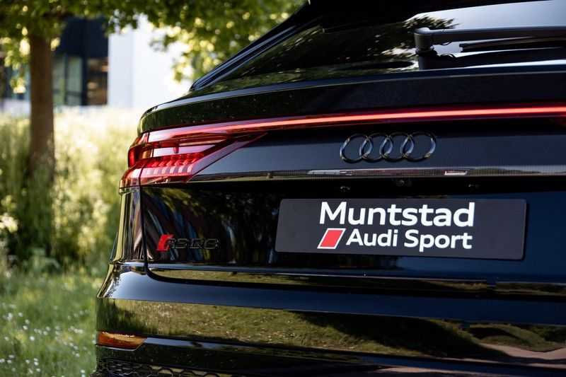 Audi RSQ8 4.0 TFSI RS Q8 quattro RS Dynamic+ designpakket   Carbon Package   360 camera   B&O Advanced   Pano   Beschikbaar vanaf Augustus 2021!! afbeelding 4