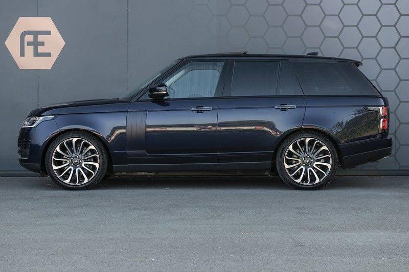 Land Rover Range Rover 5.0 V8 SC Autobiography Portofino Blue + Verwarmde, Gekoelde voorstoelen met Massage Functie + Adaptive Cruise Control + Head Up afbeelding 5