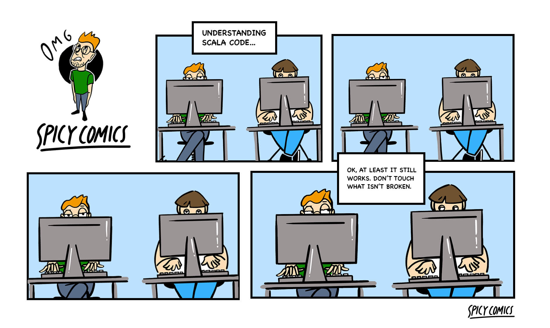 Spicy Comic #8 - Scala code.. you know that feeling..
