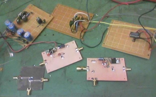 coffee can radar hand-built modules