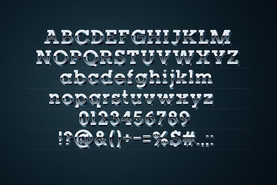 3D Chrome Typeface images/promo-2_2.jpg