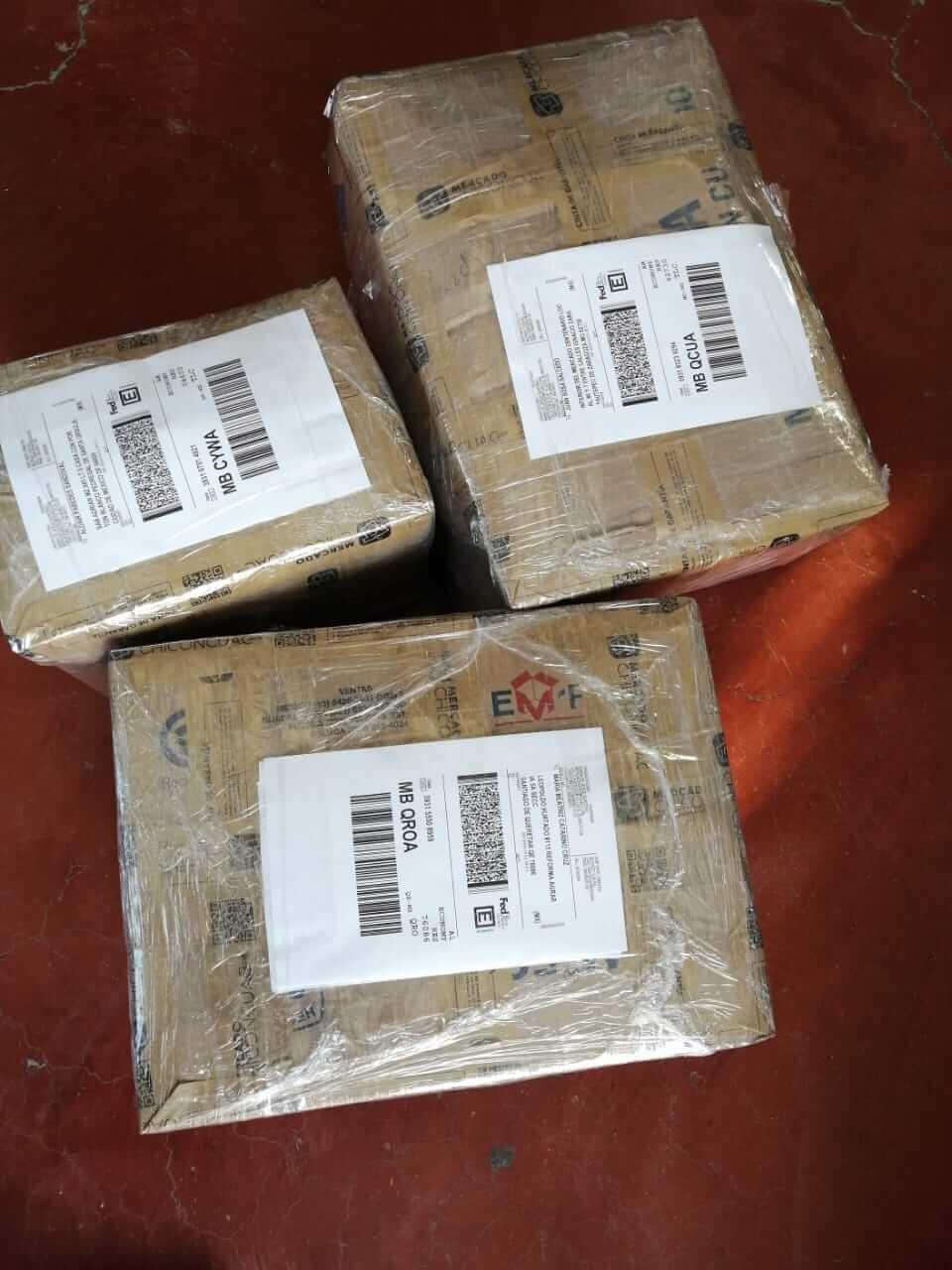Pedidos empacados