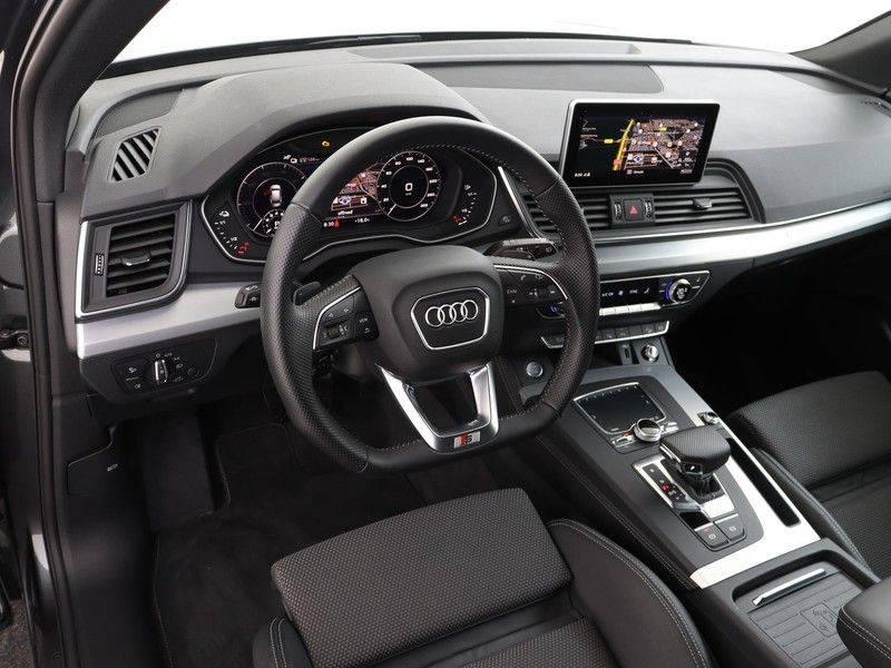 Audi Q5 50 TFSI e 299 pk quattro S edition   S-Line  Matrix LED koplampen   Assistentiepakket City/Parking   360* Camera   Trekhaak wegklapbaar   Elektrisch verstelbare/verwambare voorstoelen   Verlengde fabrieksgarantie afbeelding 2
