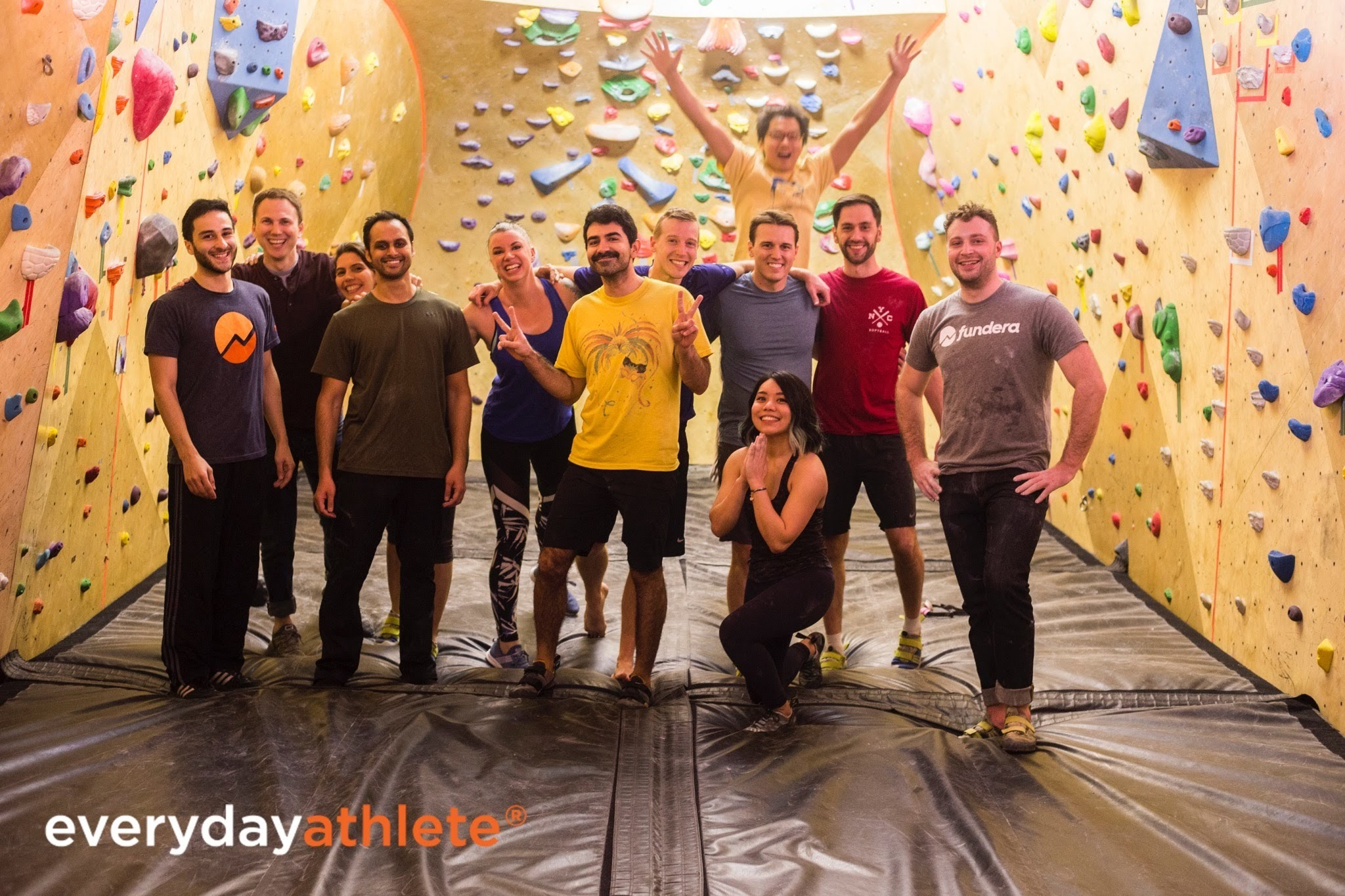 Fundera team at Everyday Athlete