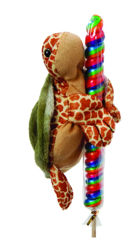 "The Petting Zoo: 8"" Lolly Plush Sea Turtle"