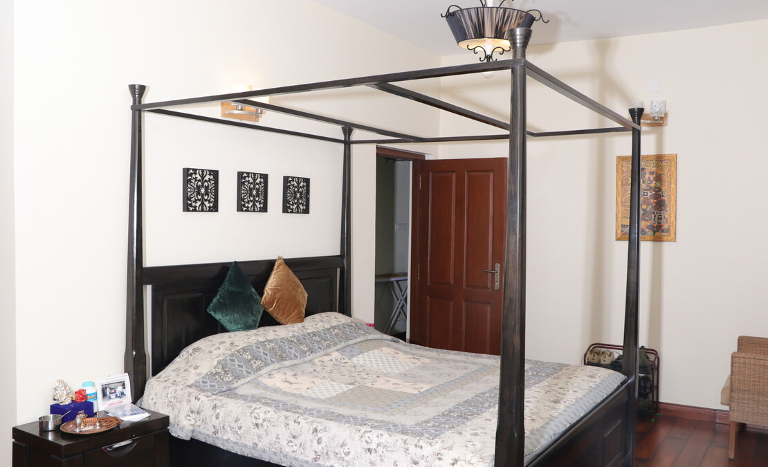 Guest bedroom of the house