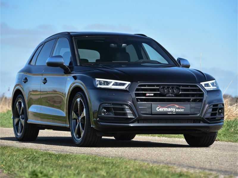 Audi SQ5 3.0TFSI 354pk Quattro Black Optic Alle Opties! Individual Lucht Tr.Haak Standk Ruitleder 360Cam afbeelding 3
