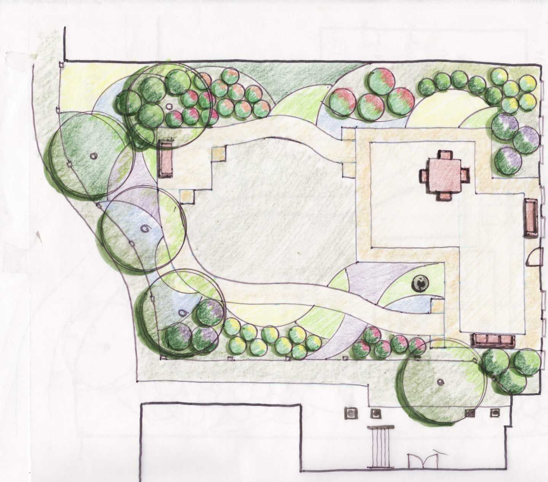 Camilla Hall Institution catharine ann farnen landscape architecting overview