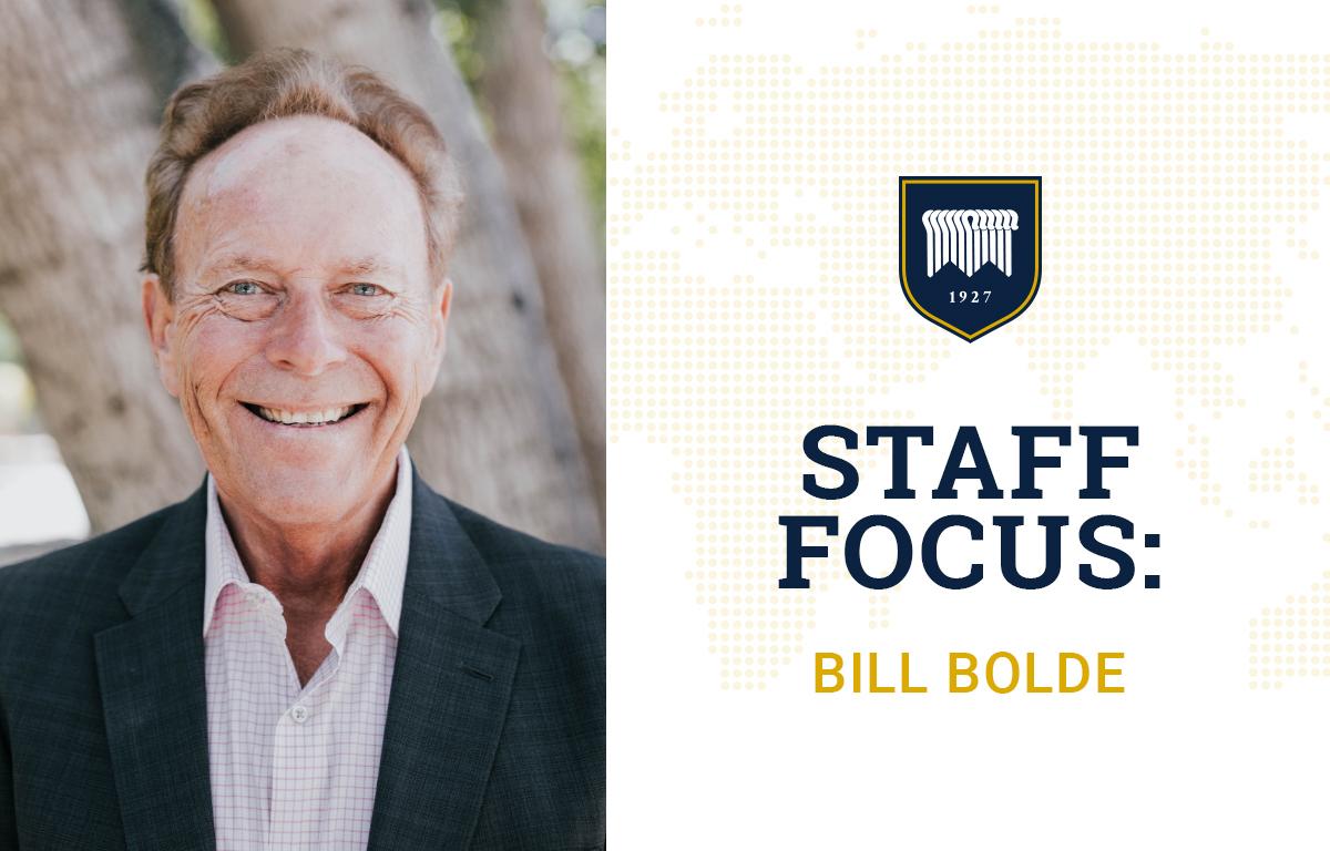 Staff Focus: Bill Bolde image