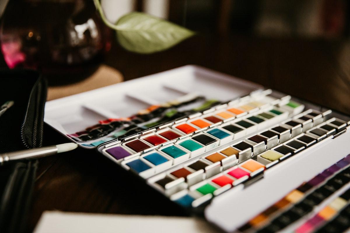 painting color palette