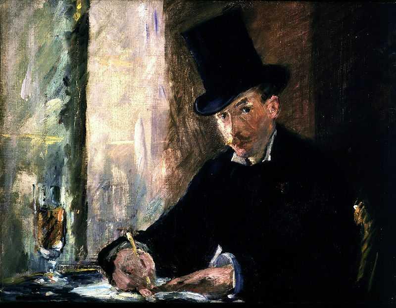 Chez Tortoni by Edouard Manet, 1870s, 1990: stolen from Isabella Stewart Gardner Museum