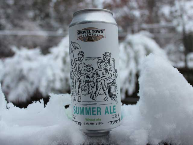 Summer Ale, a Wheat Ale brewed by Shovel Town Brewery